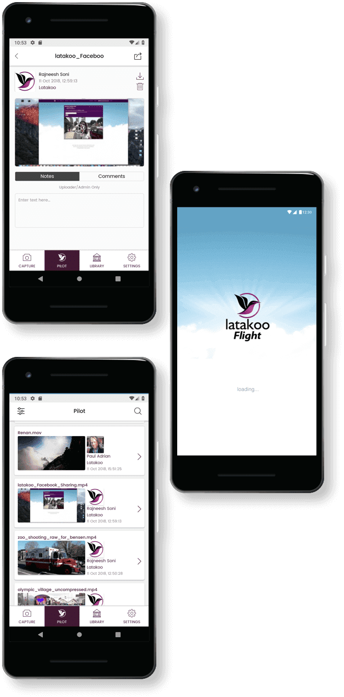 Latakoo App Mockup